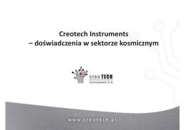 Wnioski i doświadczenia wybranych firm z realizacji projektów ESA