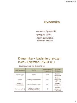 3-4 Dynamika