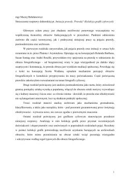 streszczenie rozprawy doktorskiej w języku polskim