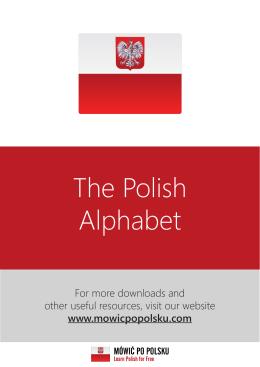 Polish Alphabet Mowicpopolsku.indd