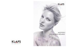 nowości producenta KLAFS
