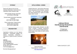 Zaproszenia na Rajd - Katedra Geomechaniki, Budownictwa i