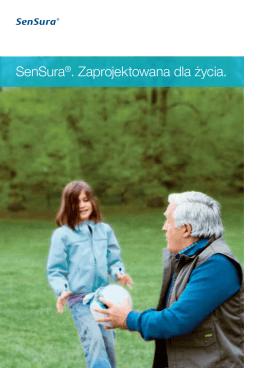 SenSura®. Zaprojektowana dla życia.