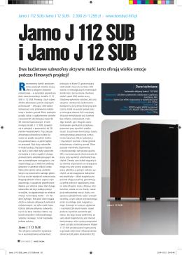 Dwa budżetowe subwoofery aktywne marki Jamo oferują wielkie