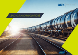 LEADING RAILCAR SOLUTIONS