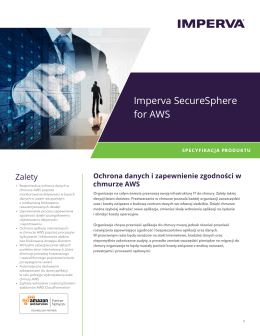 Imperva SecureSphere for AWS