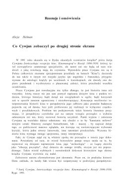 20. Alicja Helman - Co Cywjan zobaczył po drugiej stronie lustra