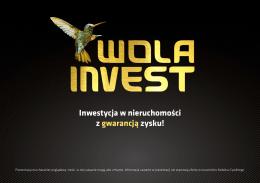 Inwestycja w nieruchomości z gwarancją zysku!