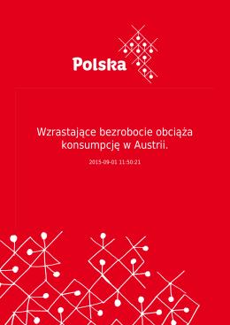 Wzrastające bezrobocie obciąża konsumpcję w Austrii.