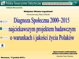 Prezentacja - mgr Władysław Wiesław Łagodziński