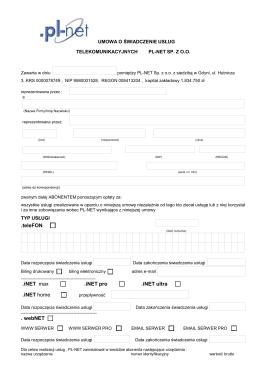 .teleFON .iNET max .iNET pro .iNET ultra .iNET home - PL-net
