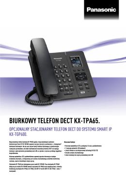 Specyfikacja - Panasonic Business