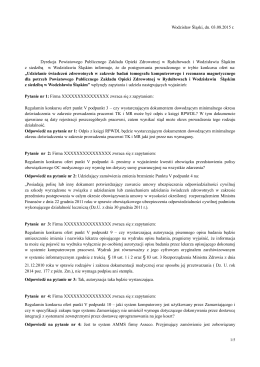 Odpowiedzi na zapytania cz.5 - Powiatowy Publiczny Zakład Opieki