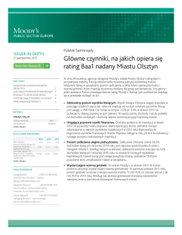 Olsztyn Issuer in depth PL