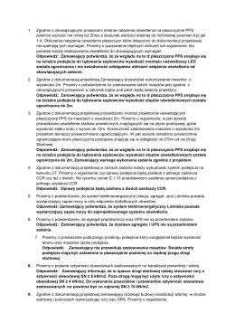 1. Zgodnie z obowiązującymi przepisami średnie