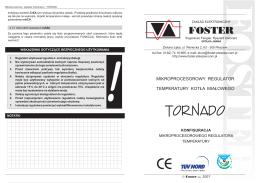 Konfiguracja TORNADO - foster