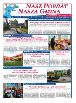 NASZ POWIAT NASZA GMINA - Starostwo Powiatowe w Jaworze