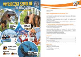 Katalog Imprez SzKolnych WIrtur 2016. W naszym Katalogu Imprez