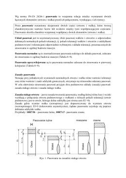 Zasady pasowania - Marta Bogdan