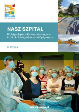 styczeń 2015 - Szpital Uniwersytecki im. A. Jurasza