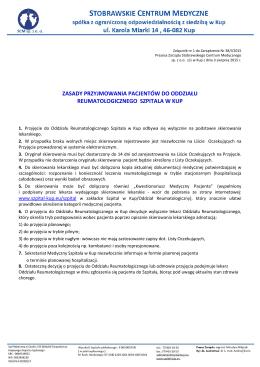 plik do pobrania  - Stobrawskie Centrum Medyczne Sp. z oo