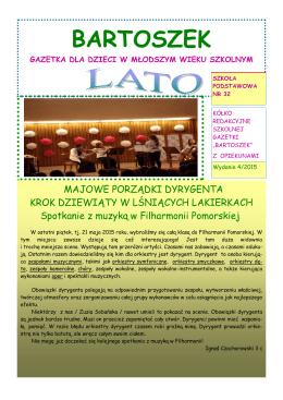 Rok szkolny 2014-2015 – numer 4 – lato (PDF 6MB)