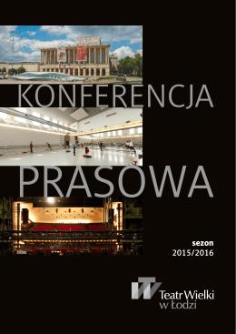 Konferencja prasowa 2015-2016
