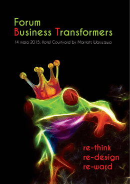 Forum Business Transformers