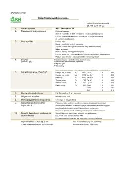 0 0 Specyfikacja wyrobu gotowego 0 E570/8 2015-06