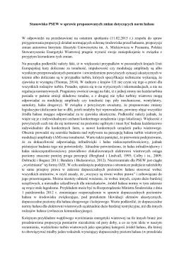 Stanowisko PSEW w sprawie proponowanych zmian dotyczcych