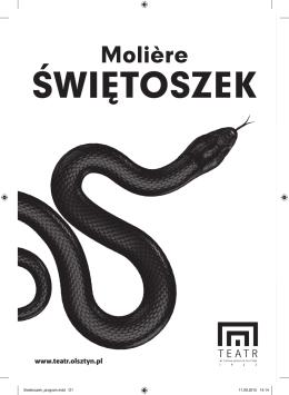 program spektaklu - Teatr im. Stefana Jaracza