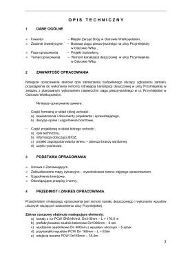 Opis techniczny - www.mzd.osw.pl.