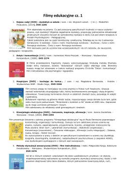 Filmy edukacyjne cz. 1