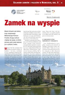 Szlakiem zamków i pałaców w Niemczech, odcinek 5