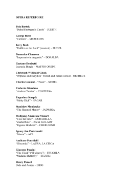Repertoire PDF