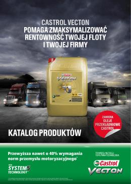 KATALOG PRODUKTÓW - Warsztat Castrol