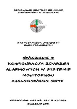 Konfiguracja zdarzeń alarmowych w systemie monitoringu