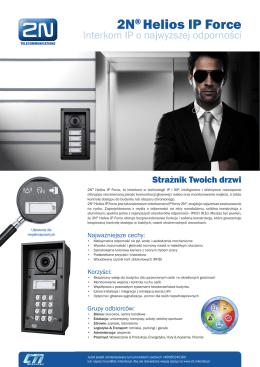 2N® Helios IP Force - CTI Mikrotel, Gdańsk
