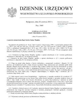 Uchwała Nr X/75/15 z dnia 19 czerwca 2015 r.