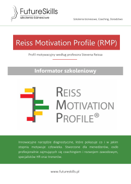 Reiss Motivation Profile (RMP)