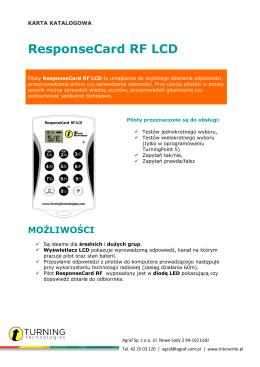 ResponseCard RF LCD