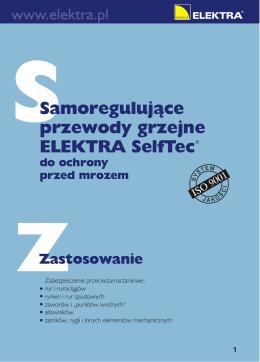 Przewody Grzejne SelfTec Broszura