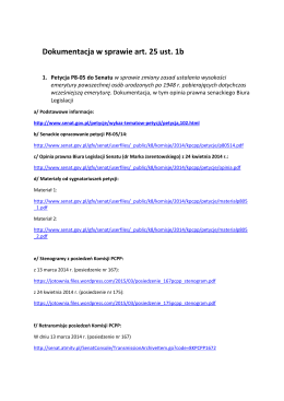 Dokumentacja w sprawie art. 25 ust. 1b