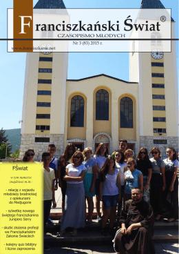 Franciszkanski Swiat 83 2015