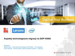 dla SAP HANA - SI Consulting