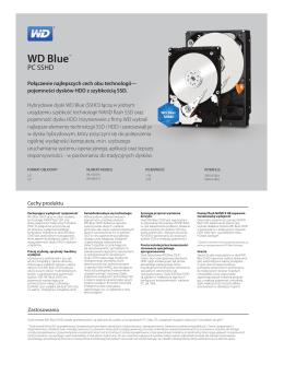 Specyfikacja techniczna dysków z serii WD Purple