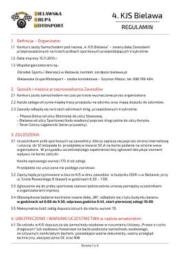 pobierz pdf - Bielawska Grupa Motorsport