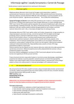 Informacje ogólne i zasady korzystania z CPD