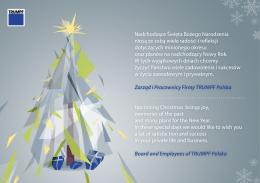 Nadchodzące Święta Bożego Narodzenia niosą ze sobą wiele