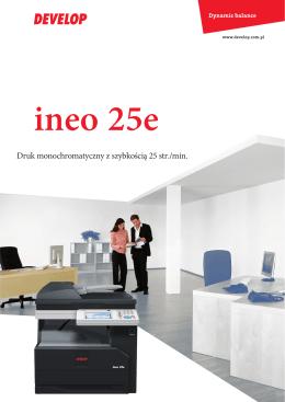 ineo 25e broszura - printservice.com.pl